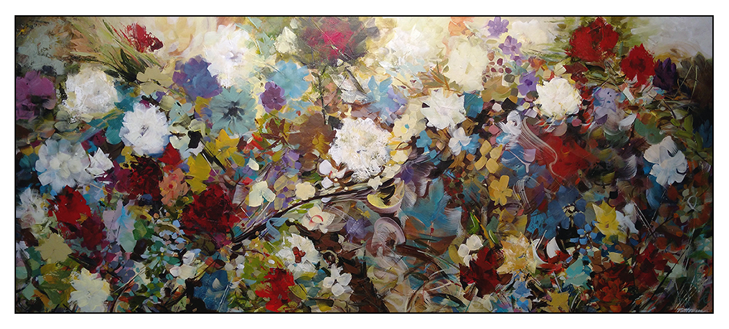 A Breach Of Privacy - 24x60 Acrylic on Canvas by David Patterson